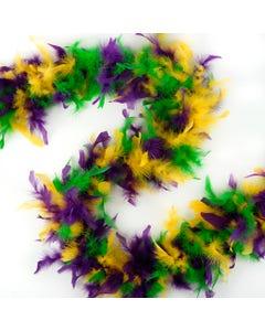 Chandelle Boas Multi Colors - Mardigras Mix