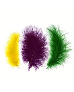 Loose Turkey Marabou Feathers Mardigras