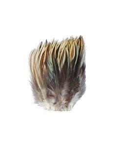 Strung Rooster Badger Hackle - Natural