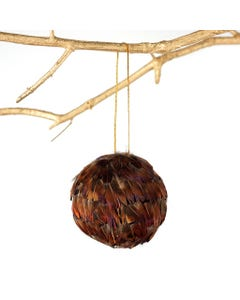 Ringneck Feather Ornament