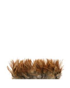 "Rooster Hackle - Furnace - Natural - 4 - 6"""