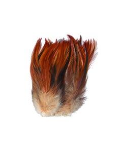Strung Rooster Furnace Hackle - Natural