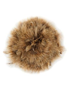 Ringneck Plumage Brown Feathers - 1YD -  Natural