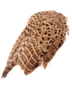 Female Ringneck Pheasant Wing - Natural