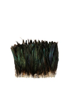 """Rooster Coque Tails Feathers Bronze Natural  9-12"""" [1/4 LB Bulk]"""