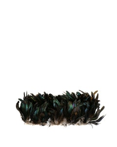 """Rooster Coque Tails Feathers Bronze Natural  3-6"""" [1/4 LB Bulk]"""