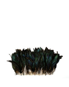 """Rooster Coque Tails Feathers Bronze Natural  5-8"""" [1/4 LB Bulk]"""