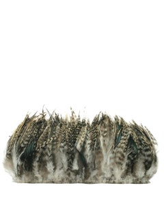 Rooster Saddle-Grey Chinchilla -  6 - 8' - 1.25yds - Natural