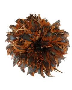 Rooster Schlappen-Half Bronze 1YD - Natural