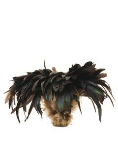 "Rooster Schlappen-Bronze - Natural-8-10"""