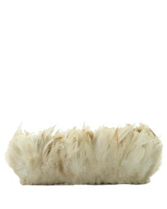 Rooster Schlappen Ginger Saddle Feathers - Natural