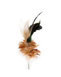 Schlappen - Peacock Floral Stem