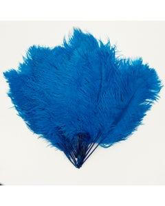 Ostrich Tails 16-18 inch  - 30 PC - Dark Turquoise