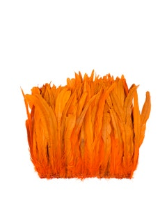 Rooster Coque Tails-Bleach-Dyed - Orange