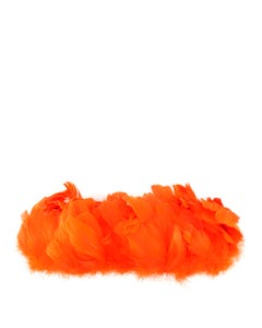 Goose Nagorie Feathers Dyed - Orange