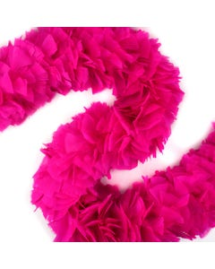 Turkey Boas Solid Colors - Shocking Pink