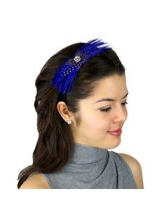 Lavender Feather Embellishment