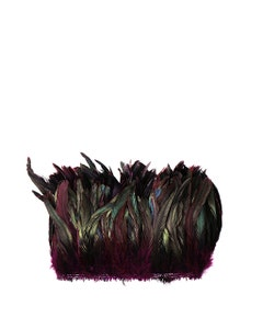 Rooster Coque Tails-Dyed - Purple