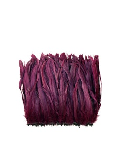 Rooster Coque Tails-Bleach-Dyed - Purple