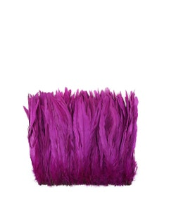 Rooster Coque Tails-Bleach-Dyed - Very Berry