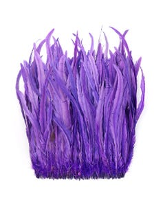 Rooster Coque Tails-Bleach-Dyed - Fl Lilac