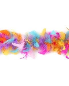 Chandelle Boas Multi Colors W/LED Lights Rainbow Brite