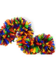"6 Ft. Turkey Feather Boas Multi-Colors 10-14"" - Rainbow Mix"