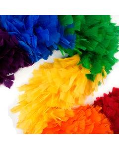 Rainbow Feather Boa | Pride Parade