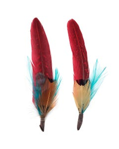 feather hat trims