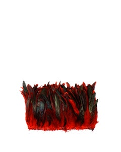 Rooster Coque Tails-Dyed - Red
