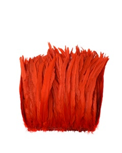 Rooster Coque Tails-Bleach-Dyed - Red