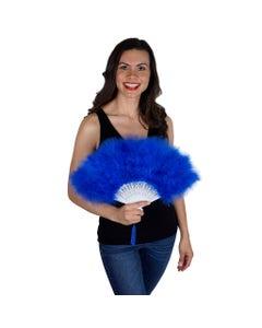 Marabou Feather Fan - Royal