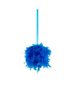 Chandelle Feather Pom Poms - Dark Turquoise