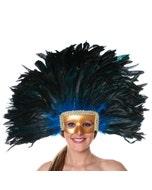 Turquoise Feather Headdress