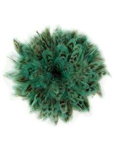 Ringneck Pheasant Plumage 1 YD Light Turquoise