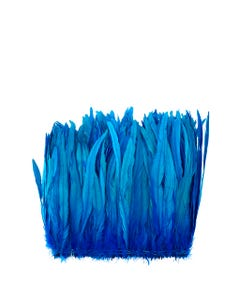 Rooster Coque Tails-Bleach-Dyed - Dark Turquoise
