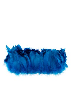 Goose Nagorie Feathers Dyed - Dark Turquoise