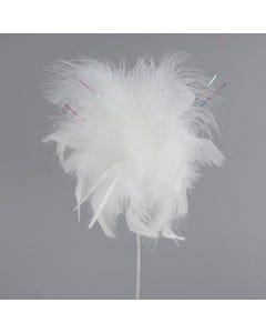 Feather Floral Pick Chandelle Marabou