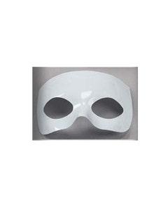 Half Face Lightweight Mask Form - White