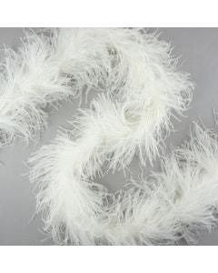 White Ostrich feather boas