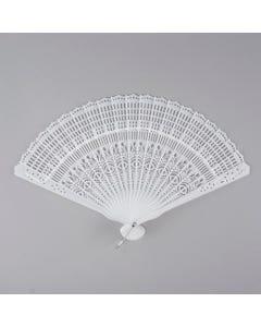 Plastic Fan Stave - White