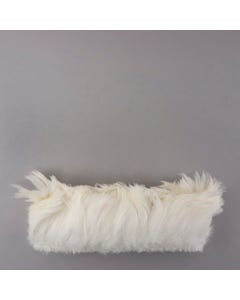 Rooster Hackle-White-Dyed - White