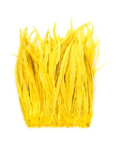Rooster Coque Tails-Bleach-Dyed Bright Yellow